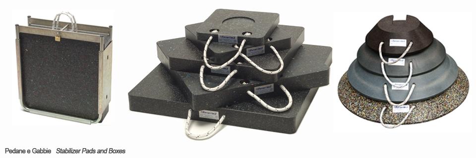 Polietylenowe podkłady prostokątne i stożkowe